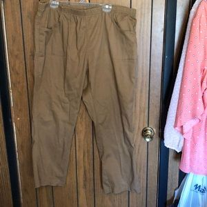 JMS 3x tan jean jeggings with easy comfort stretch